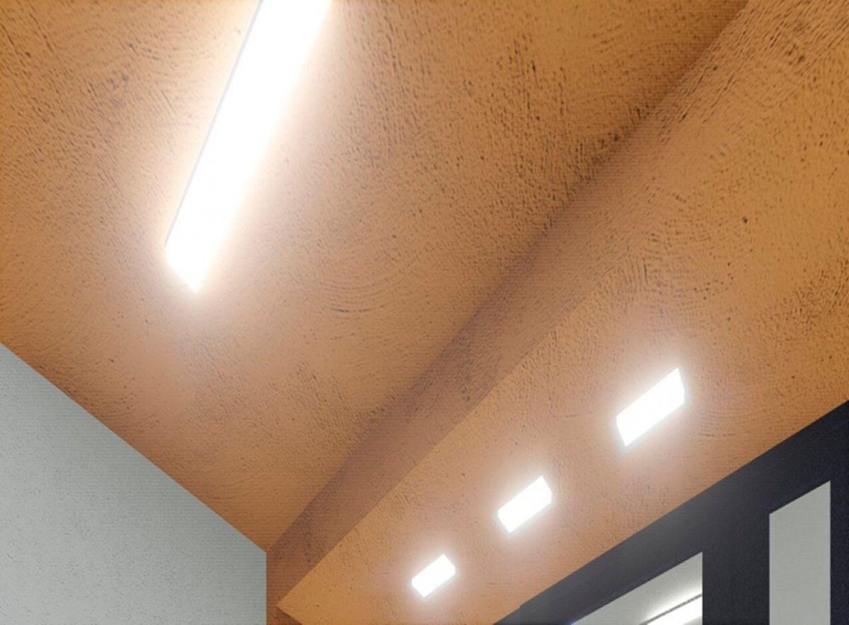 Энергосберегающие светодиодные светильники в местах общественного пользования ЖК Надежный